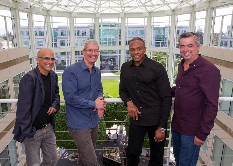 Apple buys Beats for $3 billion, co-founders Jimmy Iovine and Dr. Dre to work under Eddy Cue