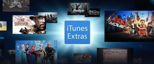 Apple's latest iTunes update adds movie Extras to Mac and