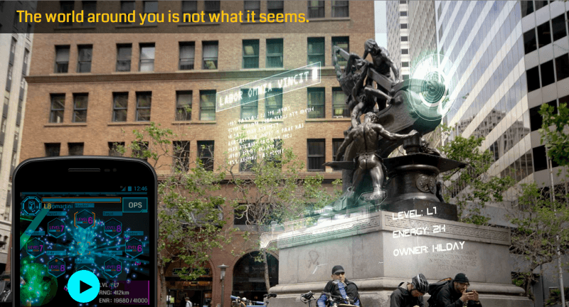 Google's augmented reality game Ingress is now available on iOS