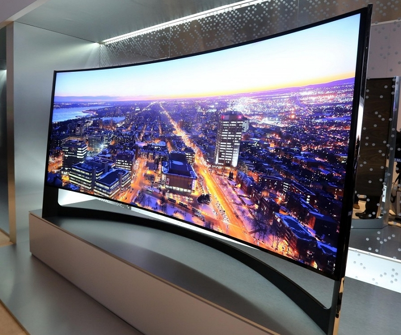 Samsungs Ridiculously Expensive 105 Inch Curved 4k Ultra Hd Tv Now Up For Pre Order