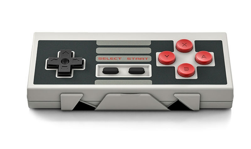 The NES30 controller is a throwback that looks and feels like a true classic