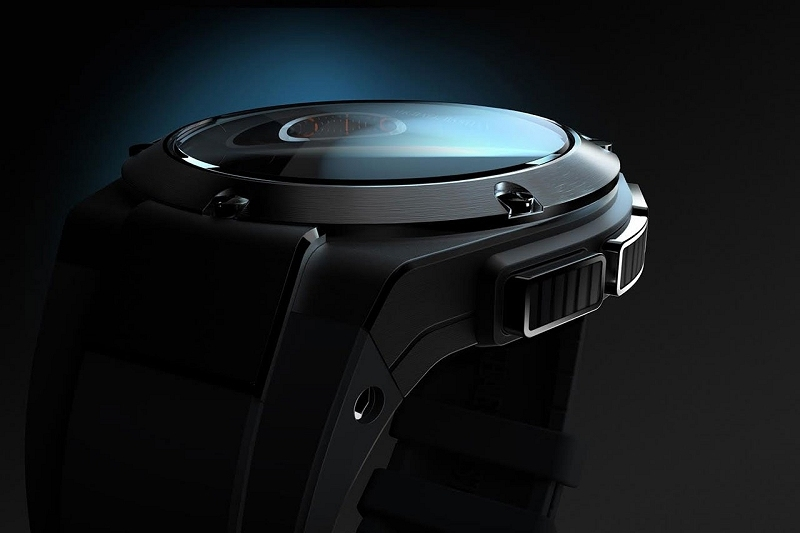 This is HP's smartwatch, designed by Michael Bastian for Gilt
