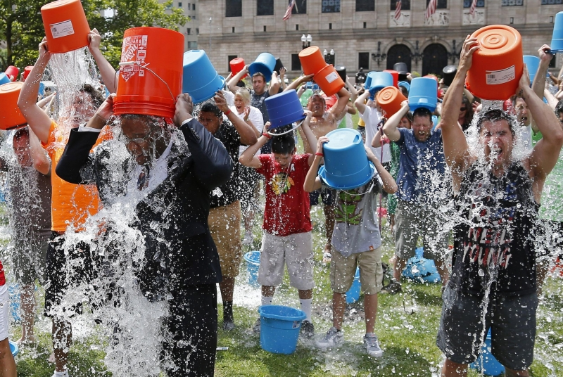 ALS Association moves to trademark 'ice bucket challenge' -- withdrawn