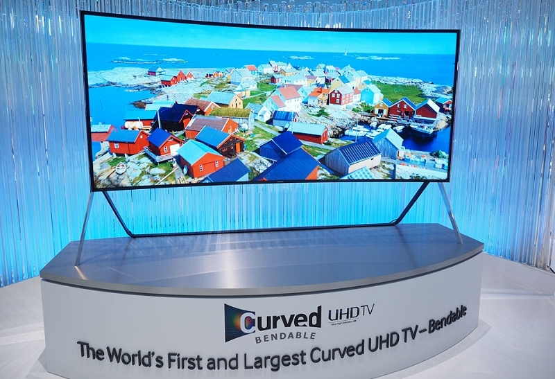 samsung uhd tv television flexible bendable curved ifa 2014