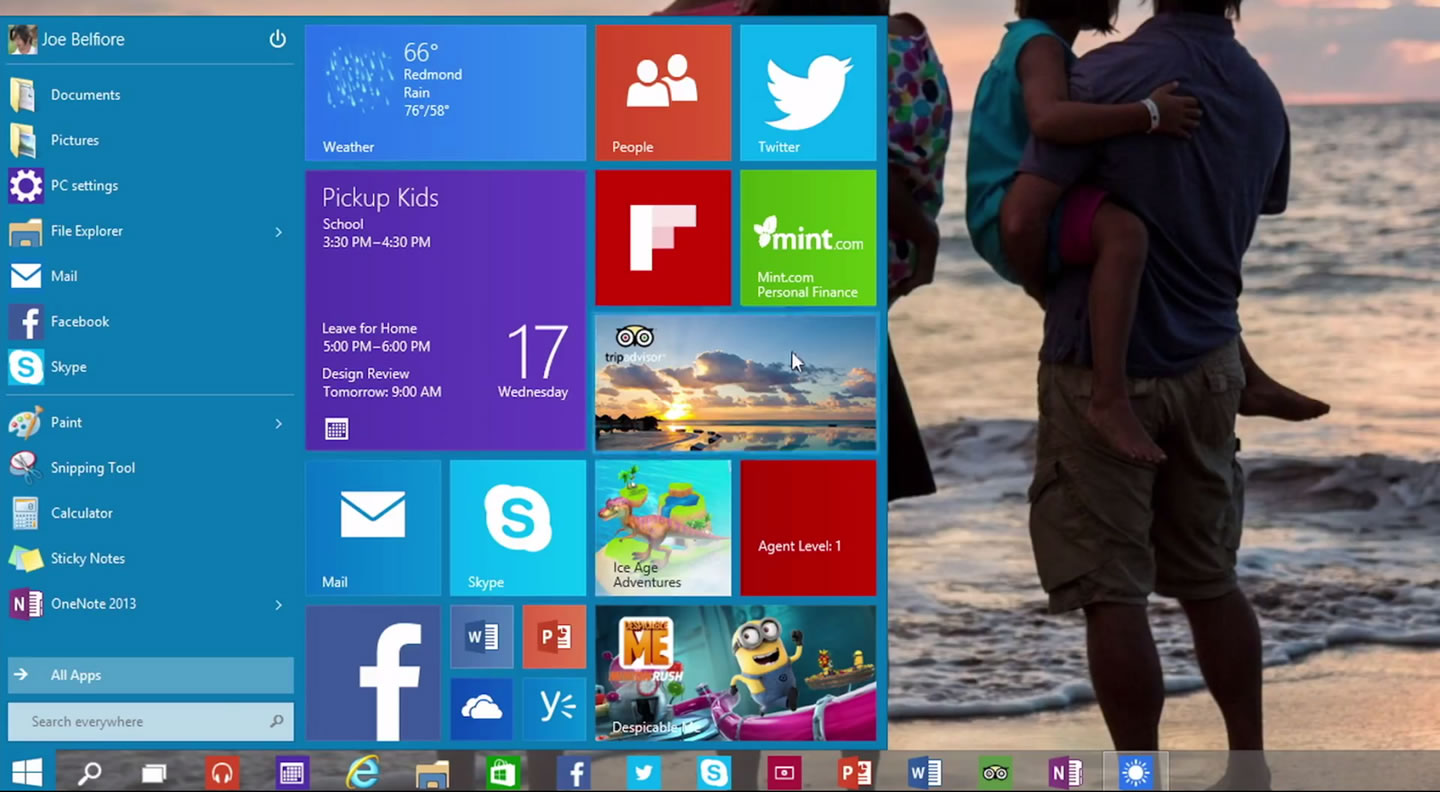 windows 10 is the name of microsoft s next generation operating