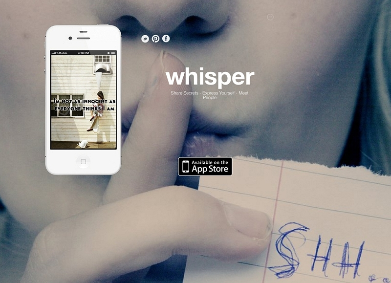 Whisper app accused of tracking users' locations, storing posts in database