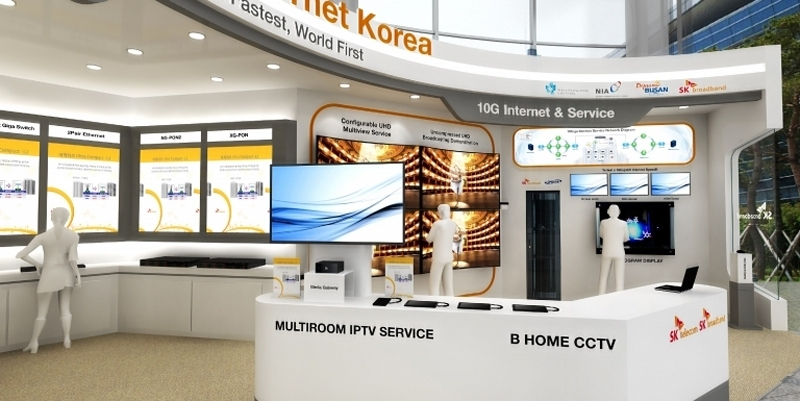 South Korean ISP set to unveil 10Gbps fiber connection, 1GB download in less than a second