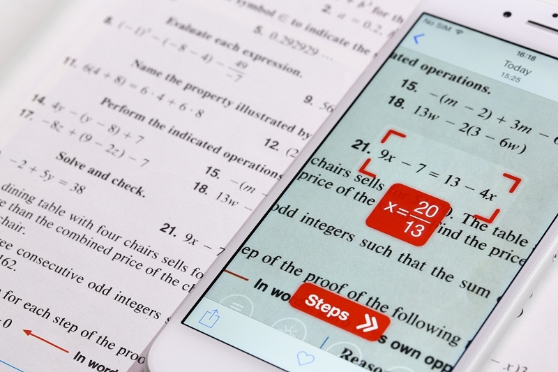 PhotoMath uses your smartphone\'s camera to solve math problems ...