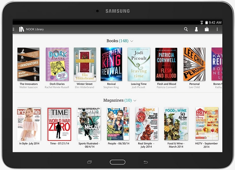 Barnes & Noble launches larger Galaxy Tab 4 Nook with expandable storage