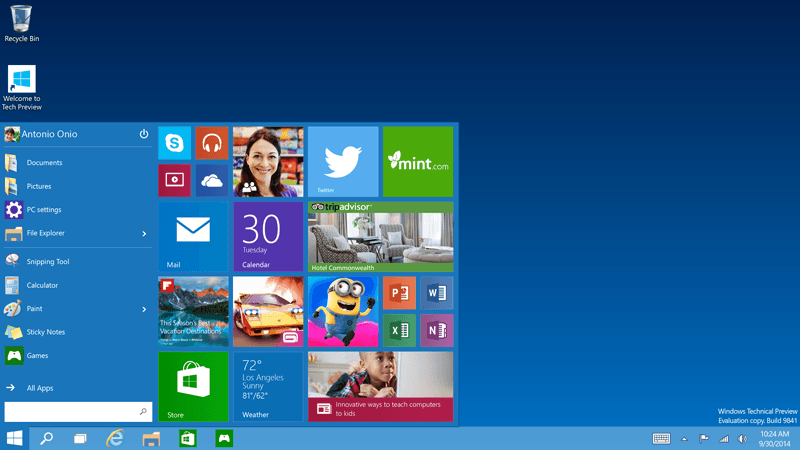 Two-factor authentication will come baked into Windows 10