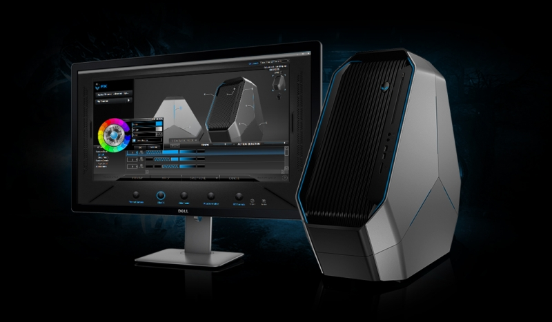 Alienware revamps the Area 51 gaming desktop with unique triangle case