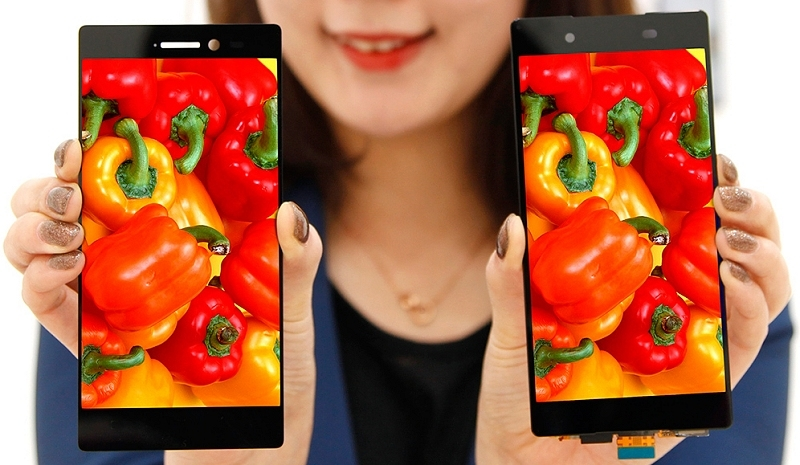 LG's new 5.3-inch smartphone display features impossibly thin bezels