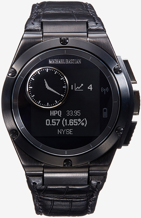 HP's MB Chronowing is the smartwatch for the fashion ...