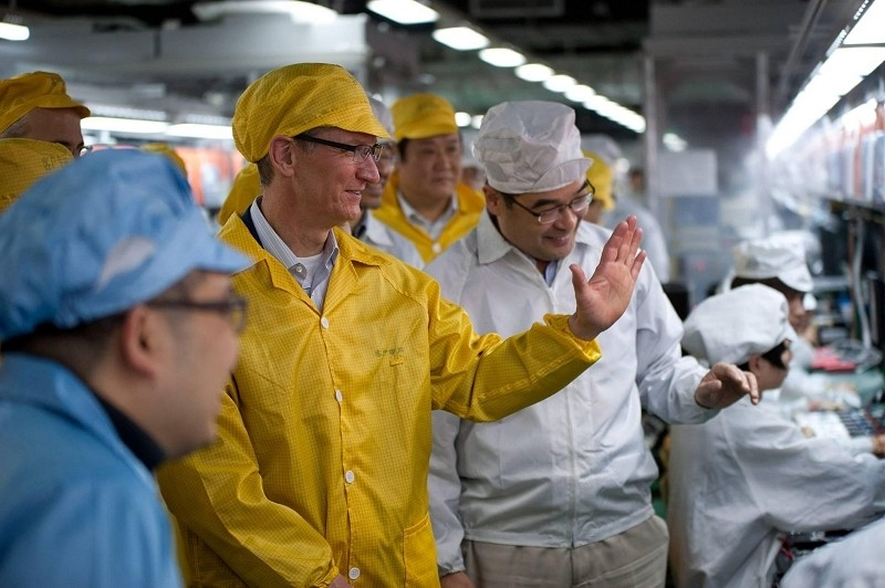 Foxconn to spend $2.6 billion over the next two years to build dedicated Apple display plant