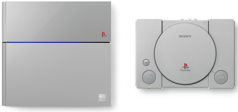 Sony celebrates PlayStation's 20th anniversary with a limited edition, retro-themed PS4