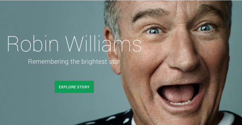 Google's top searches of 2014: Robin Williams, the World Cup and ALS