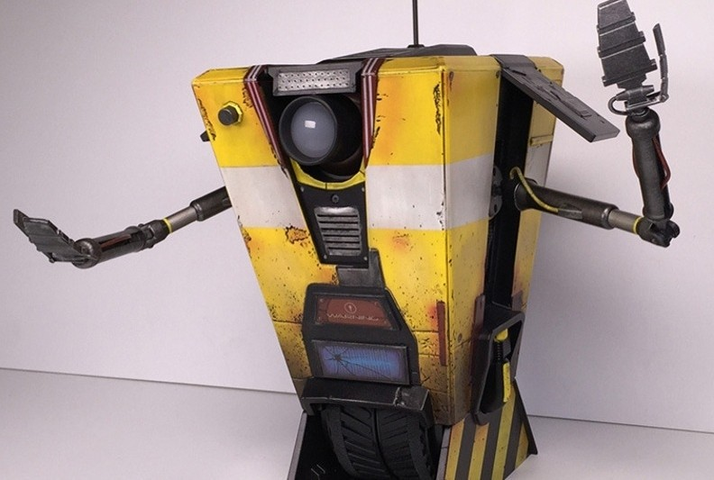 Borderlands: The Handsome Collection for next-gen consoles comes with a remote-controlled Claptrap
