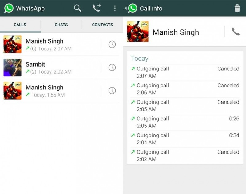 WhatsApp begins testing voice calling feature over 3G and Edge in India