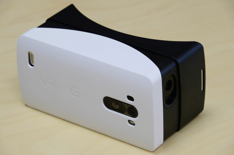 'VR for G3' is LG's answer to Samsung's Gear VR, inspired by Google Cardboard