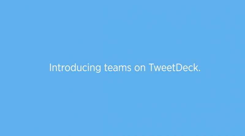TweetDeck introduces new shared Teams feature for group Twitter accounts