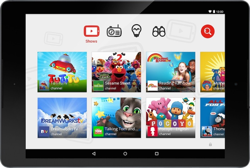 youtube kids android ios