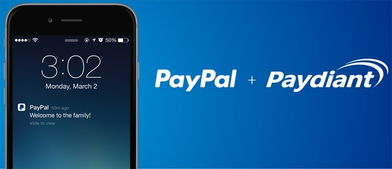 PayPal acquires mobile payments startup Paydiant, adding NFC to new Here card reader