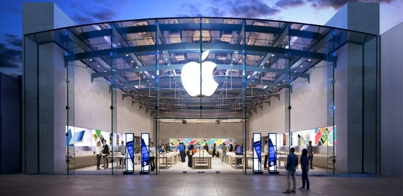 Popularity of Apple Stores sees mall sales rise by 10%