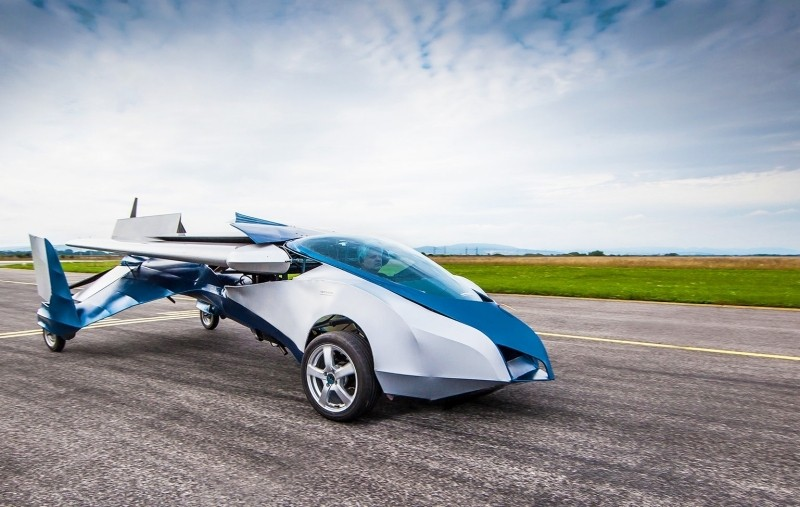 AeroMobil aims to launch flying car in 2017, autonomous version to follow