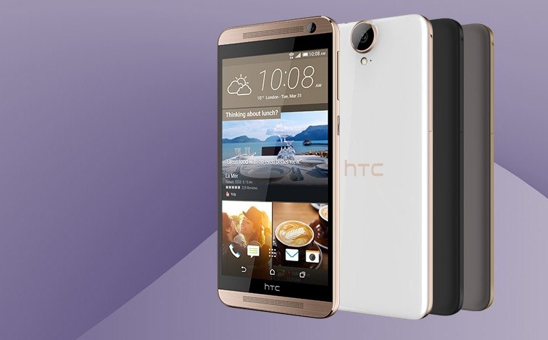 HTC quietly launches the One E9+ with high-end specs, plastic body