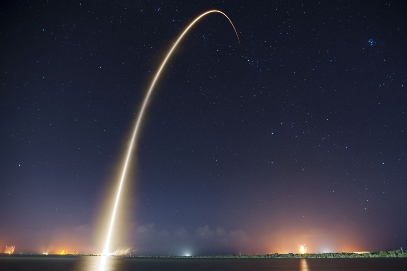 SpaceX takes advantage of new public domain and creative commons licensing options on Flickr