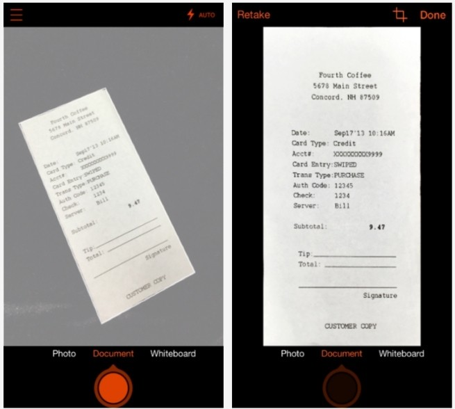 Microsoft Office Lens Document Scanning App Now Available