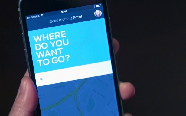ford lyft uber ride sharing dynamic shuttle ride-hailing service