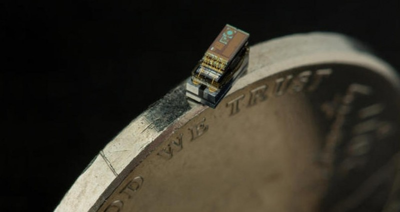 This miniature computer can fit on the edge of a nickel