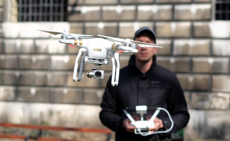 DJI launches new quadrocopter with 4K camera for $1260