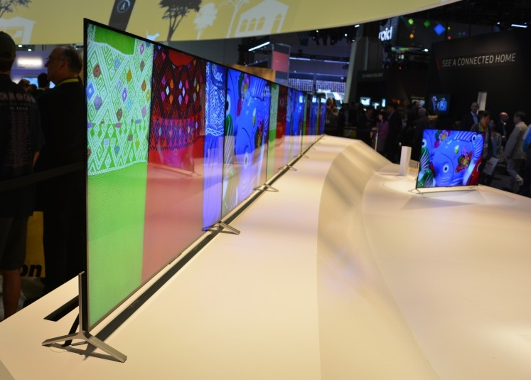 Sony's two new 4K TVs are thinner than an iPhone 6, set to arrive this summer