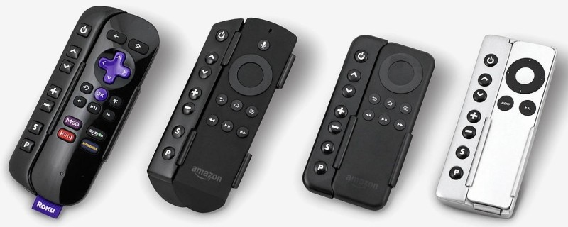 Sideclick transforms your media streamer remote into a universal remote in seconds