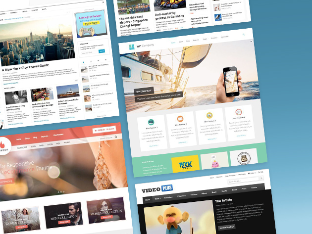 Save 82% on a lifetime subscription of WordPress themes from Theme Junkie