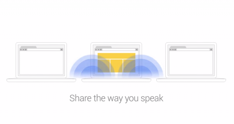 Google's experimental Tone extension uses sound to share links with nearby devices