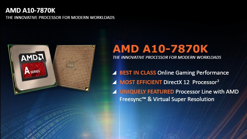 AMD launches the A10-7870K, a new high-end desktop APU