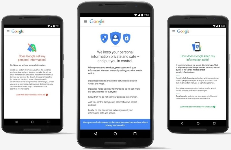 Google bundles privacy and security settings into single hub