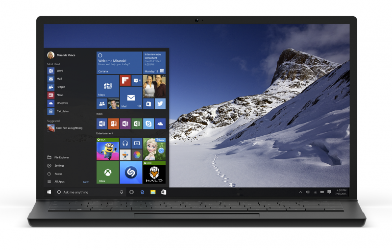 Microsoft to release Windows 10 on July 29th