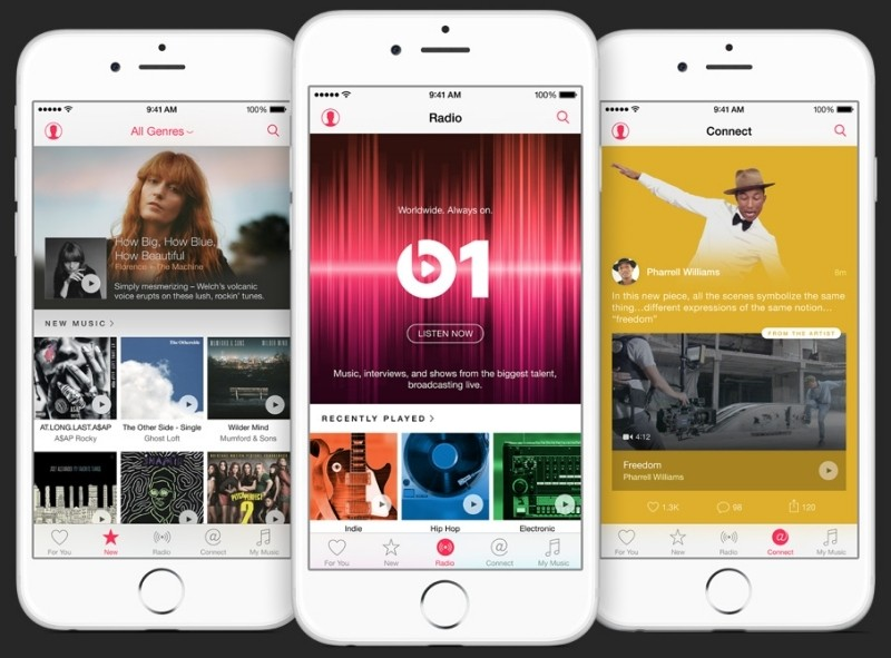 apple music apple itunes music streaming jimmy iovine music streaming beats 1