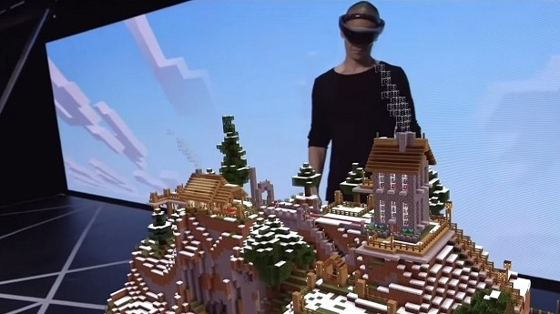 Minecraft' could be the killer app for HoloLens - TechSpot