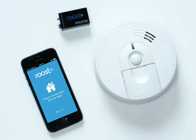 Make your smoke detectors smart with the new Roost 9-volt battery
