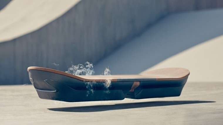 lexus toyota back to the future ii hoverboard slide