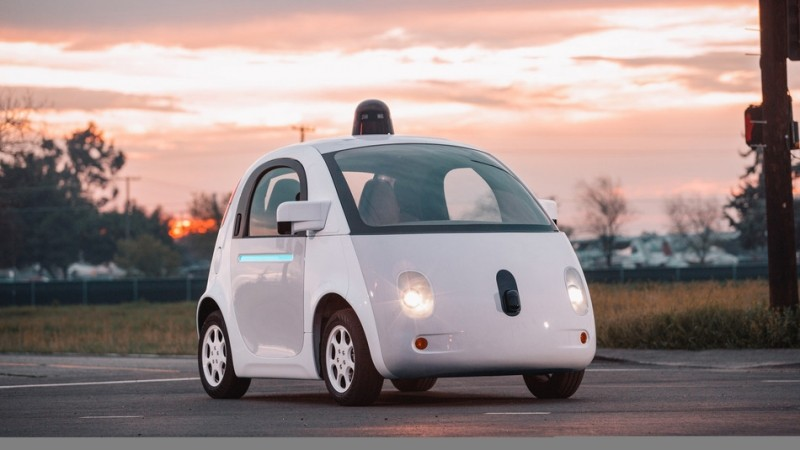 Google's self-driving pod-like cars are now cruising the streets of Mountain View