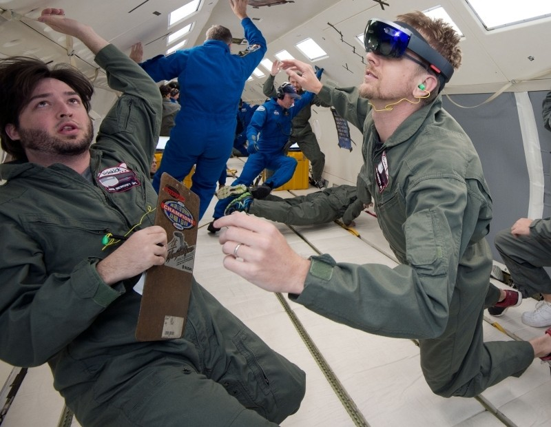 Microsoft and NASA are sending HoloLens to space as Project Sidekick