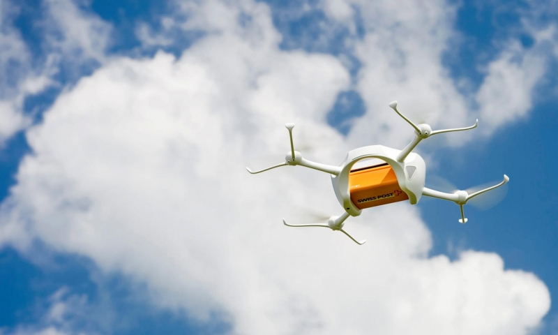 Switzerland is now testing package delivery drones