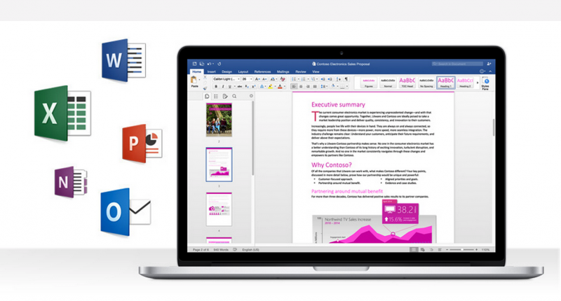 Microsoft Office 2016 for Mac is now available for 365 subscribers