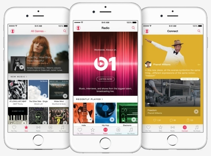 Does Apple's handling of streaming music rivals in the App Store violate antitrust laws?